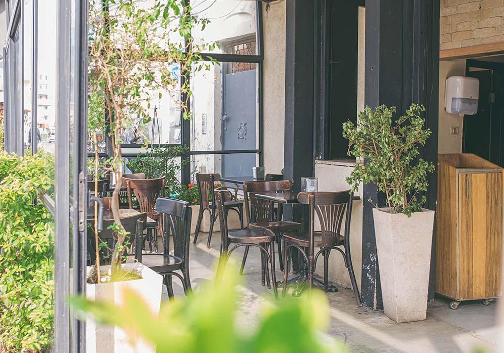פיצה רומא יפו תמונת המסעדה מבחוץ